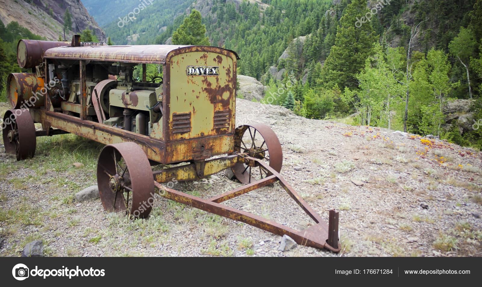 Antique Davey Generator, Ute Ulay Mine, Henson Ghost Town