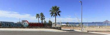 A Main Entrance to Delphinario Near San Carlos, Guaymas, Sonora,
