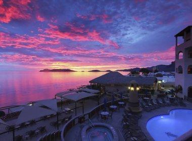 A Breathtaking Sunset, Sea of Cortez Beach Club, San Carlos, Mex
