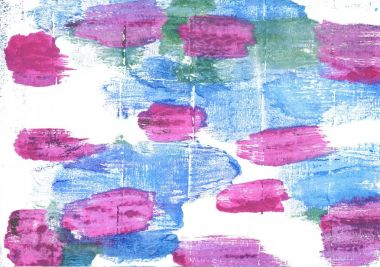 Jordy blue abstract watercolor background