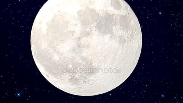 měsíc Super noc