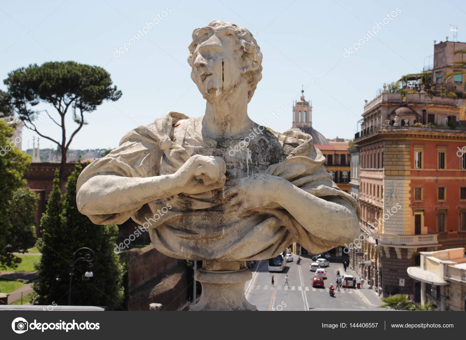 Villa Aldobrandini Schambein Arche in Rom — Stockfoto © marcovarro ...