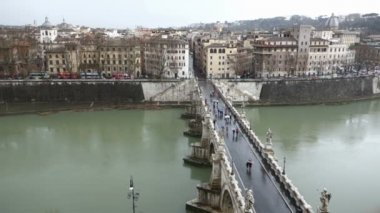 Ponte Sant Angelo in Rome
