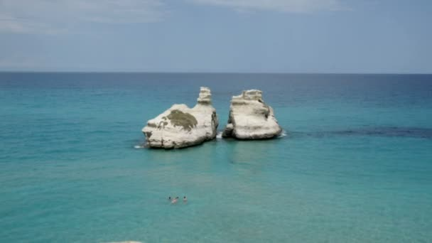 Two Sisters Rocks at Torre dell Orso, Italy