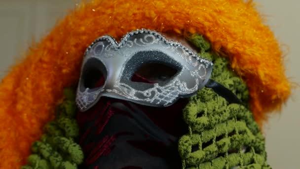 Velencei karnevál-maszk közelről