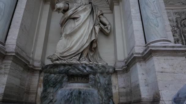 Fontana dell Acqua Felice,aka the Fountain of Moses, located in the Quirinale District of Rome, Italy
