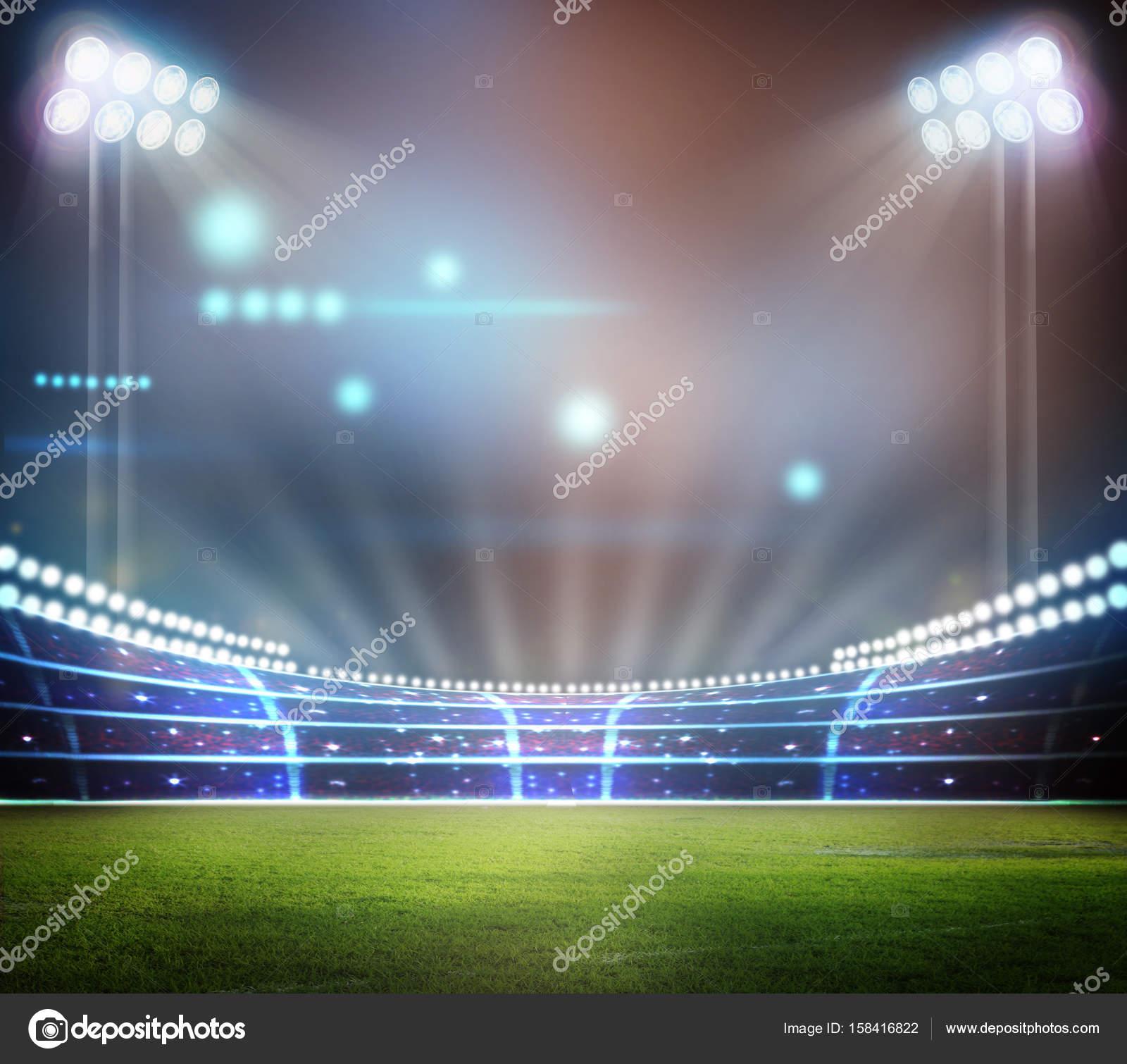 Stadium In Lights And Flashes: Foto De Stock © Wingenesis