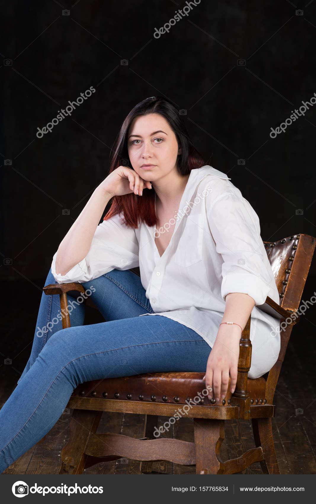 große kurvige weiße Frauen