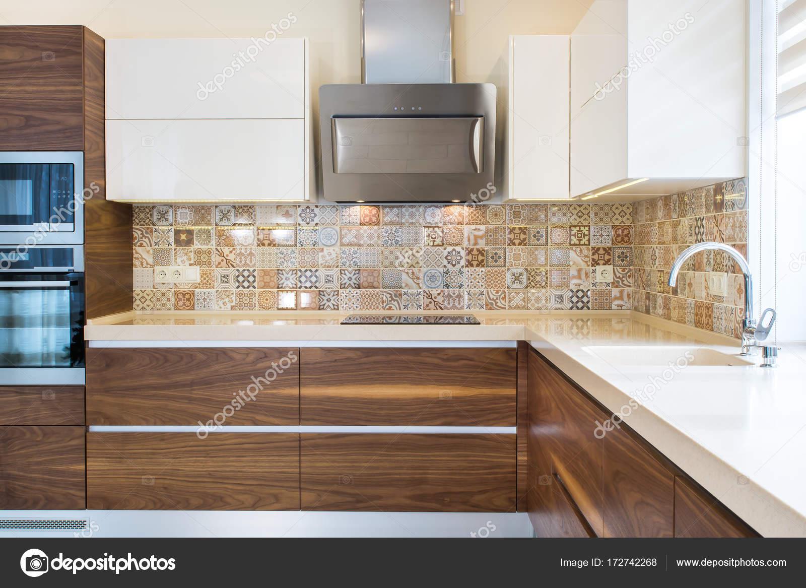 Interni Moderni Di Case : Interno di casa moderna design moderno della cucina in un interno