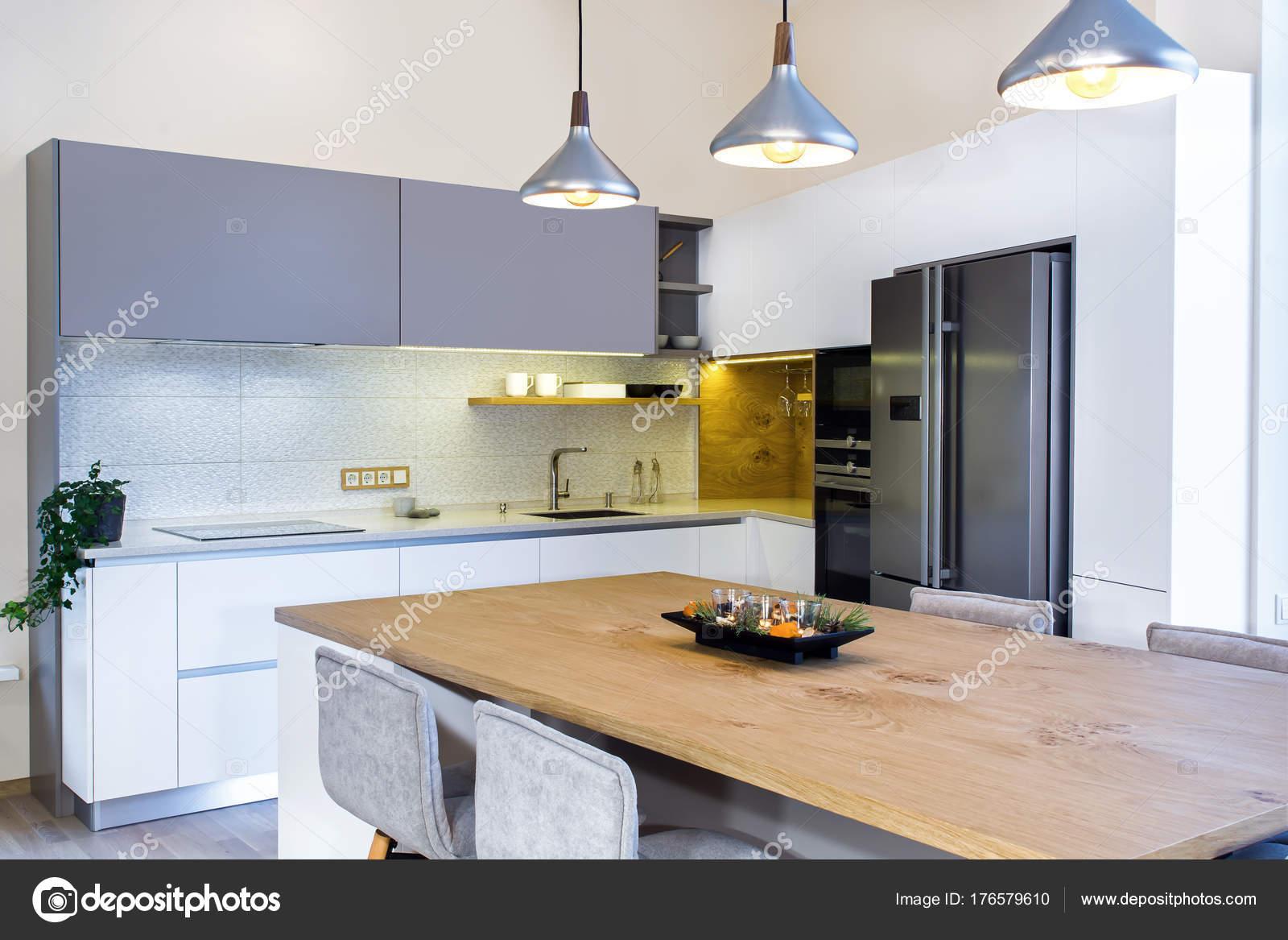 Ilot De Cuisine Portatif ~ Cuisine Moderne Design Int Rieur L Ger Galement Lot Cuisine Dans
