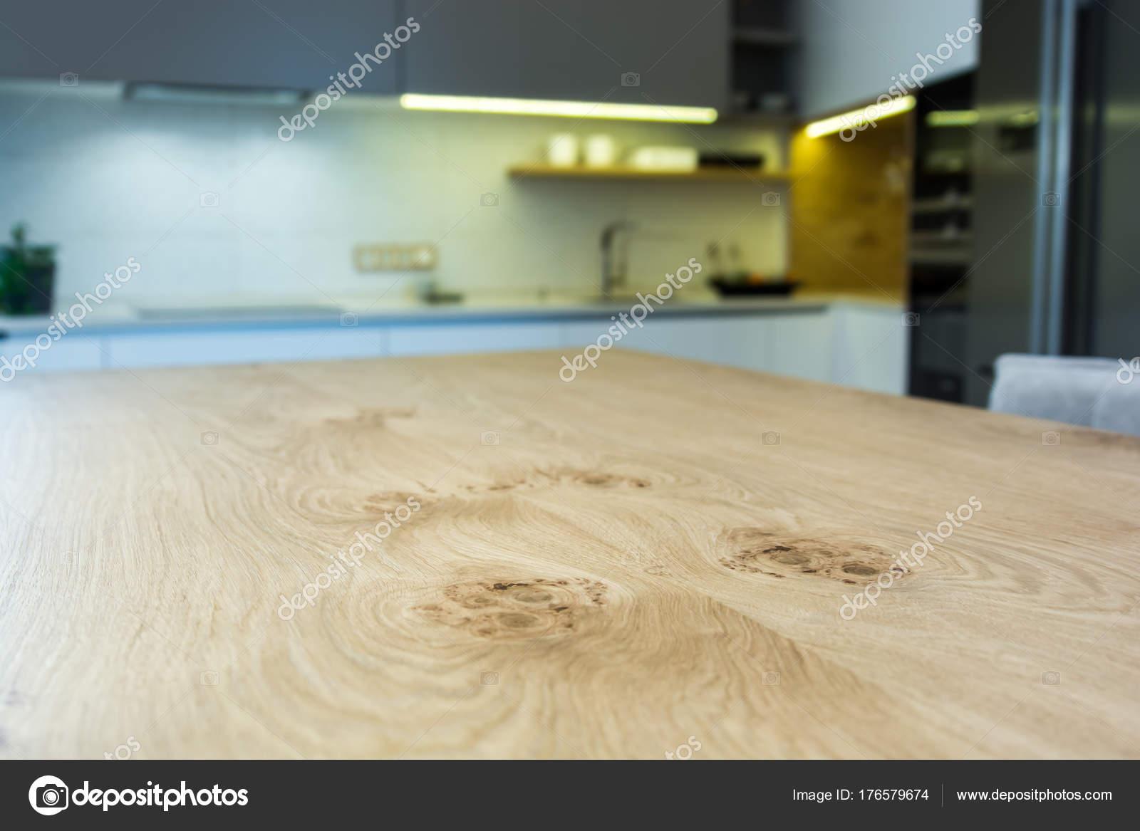Moderna Casa Interior Projeto Cozinha Moderna Luz Interior Ilha