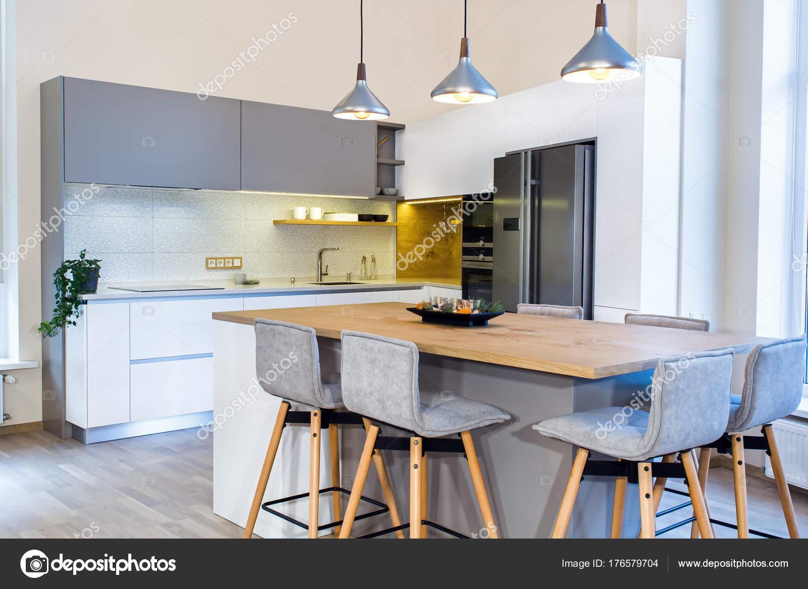 Moderna Casa Interior Projeto Cozinha Moderna Luz Interior Tamb M