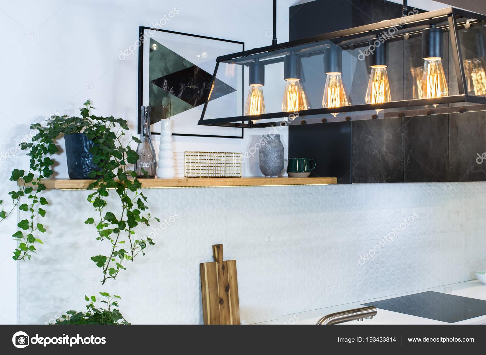 Interior Casa Moderna Cocina Moderno Diseño Luz Interior Fachadas ...