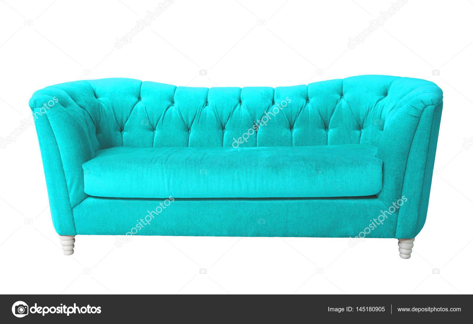 Cielo azul muebles aisladas con trazado de recorte — Foto de stock ...