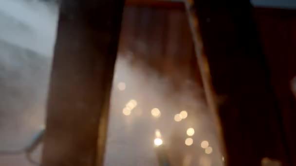 Nohy z trpaslíků po schodech