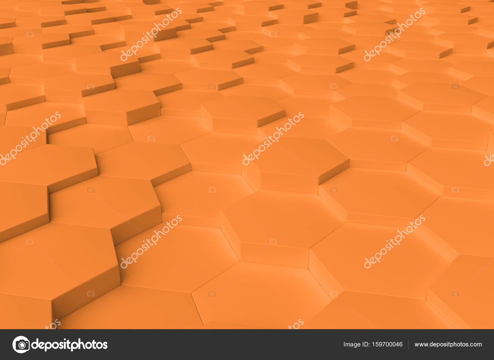 Hexagon Tegels Wit : Oranje zwart wit hexagon tegels abstracte achtergrond u stockfoto