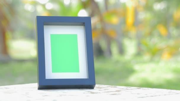 Képkeret greenscreen