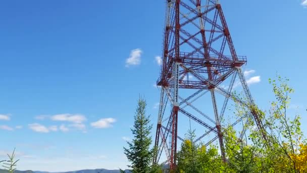 Large electrical tower