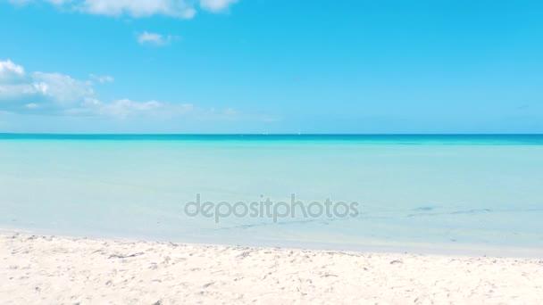 Gyönyörű karibi strand