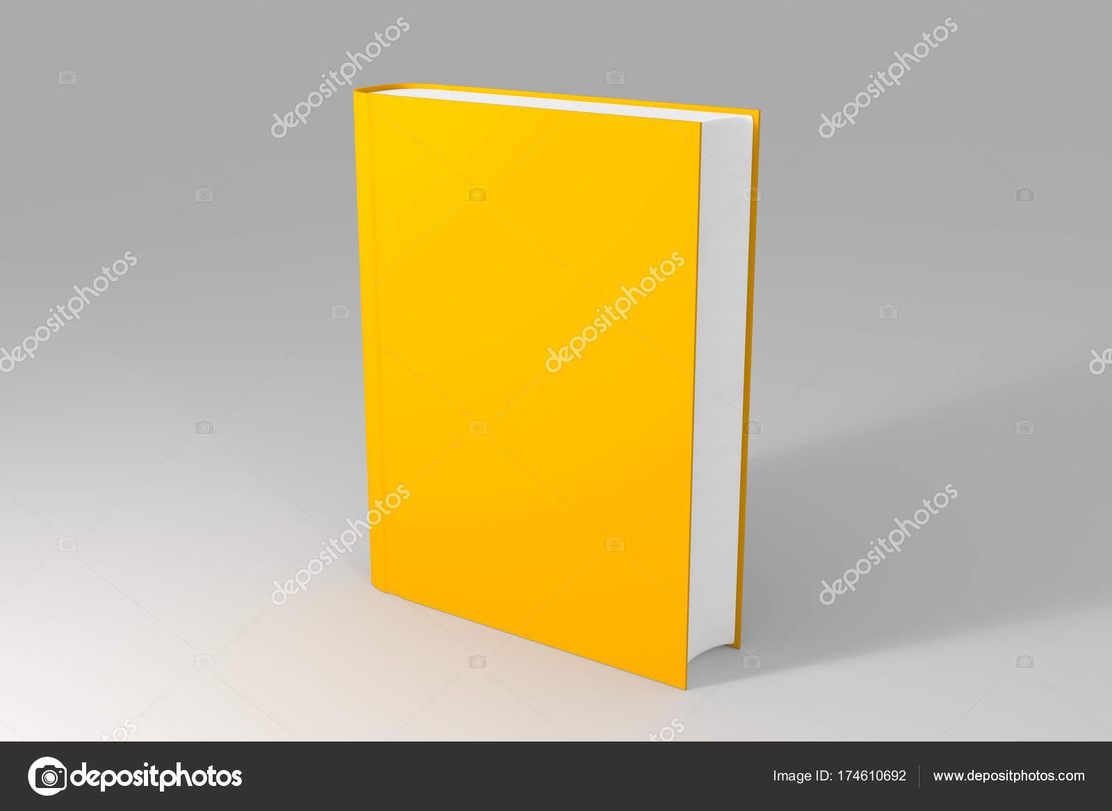 plantilla libro o cuaderno en blanco vacía sobre fondo gris limpio ...