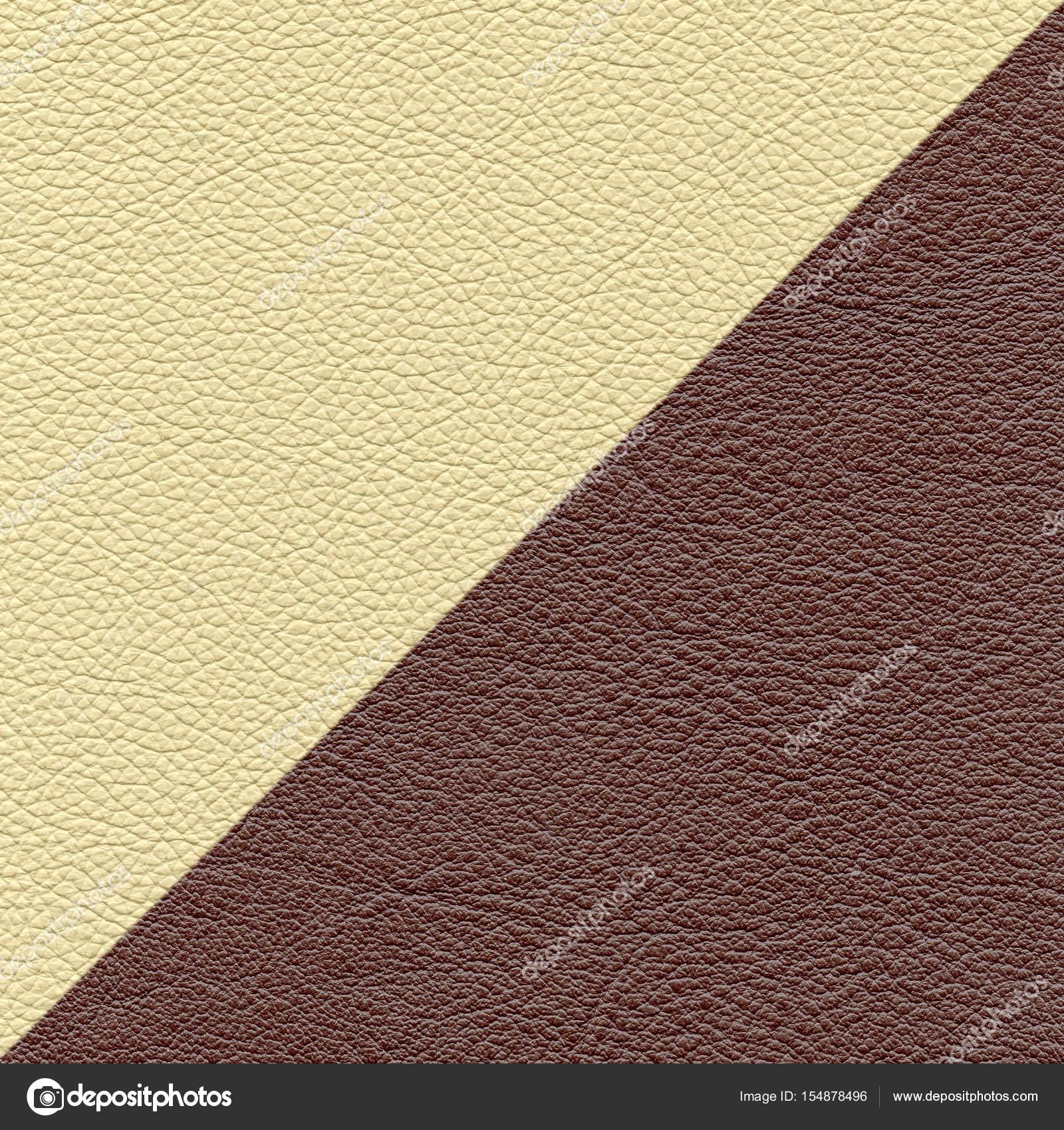 380569e45d6ff Fundo de couro de dois diferentes cores e texturas — Fotografia de Stock