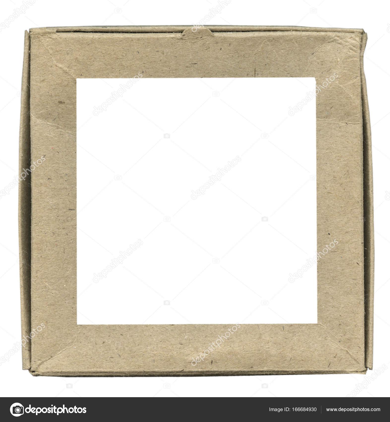 quadratische Papprahmen — Stockfoto © natalt #166684930