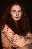 Fényképek pályázati vöröshajú nő