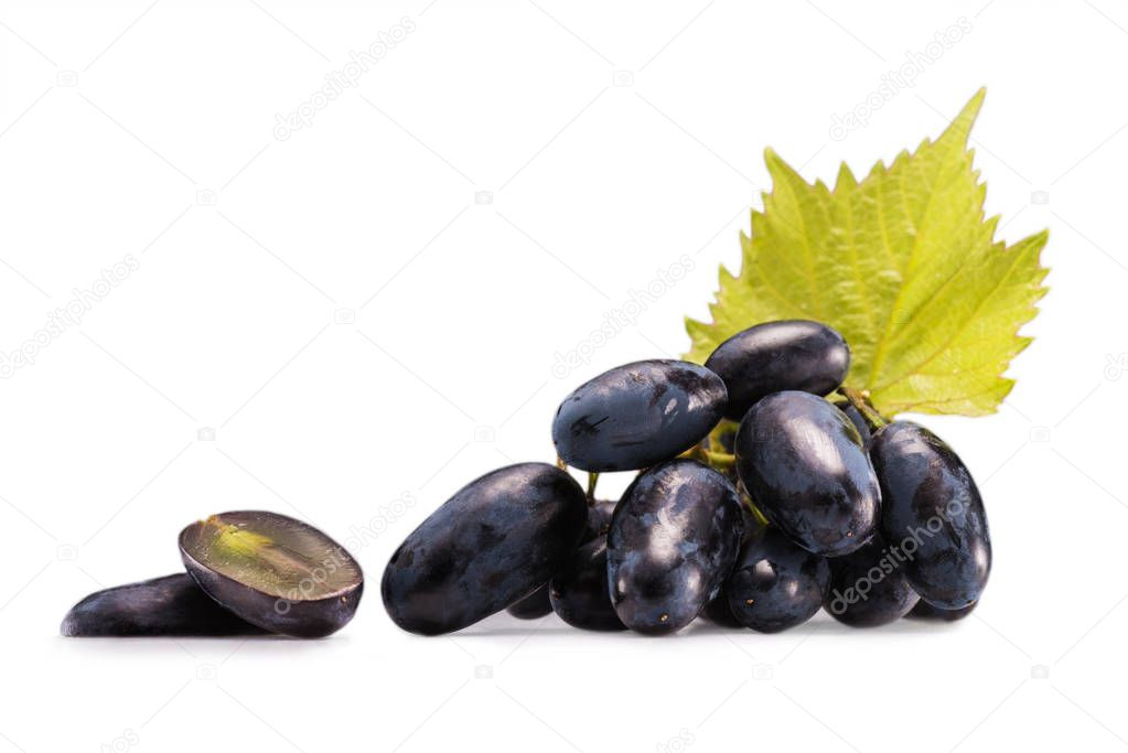 cluster of fresh grapes