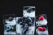 Fagyasztott gyümölcsök jégkocka