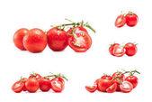 Sammlung von Cherry-Tomaten