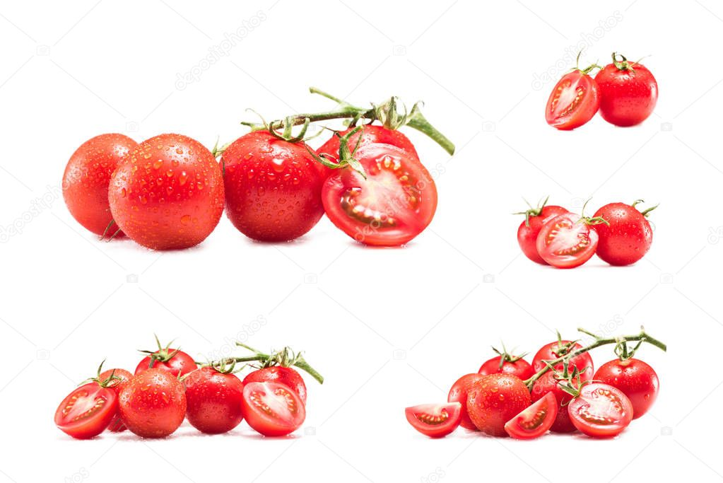 collection of cherry tomatoes