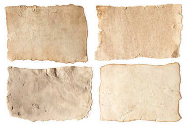 aged papers
