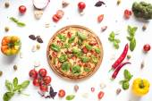Italská pizza a ingredience