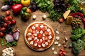 syrové pizza