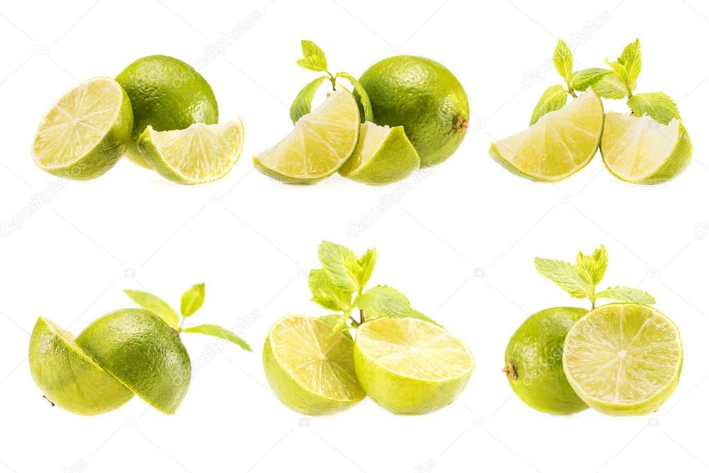 fresh sliced limes