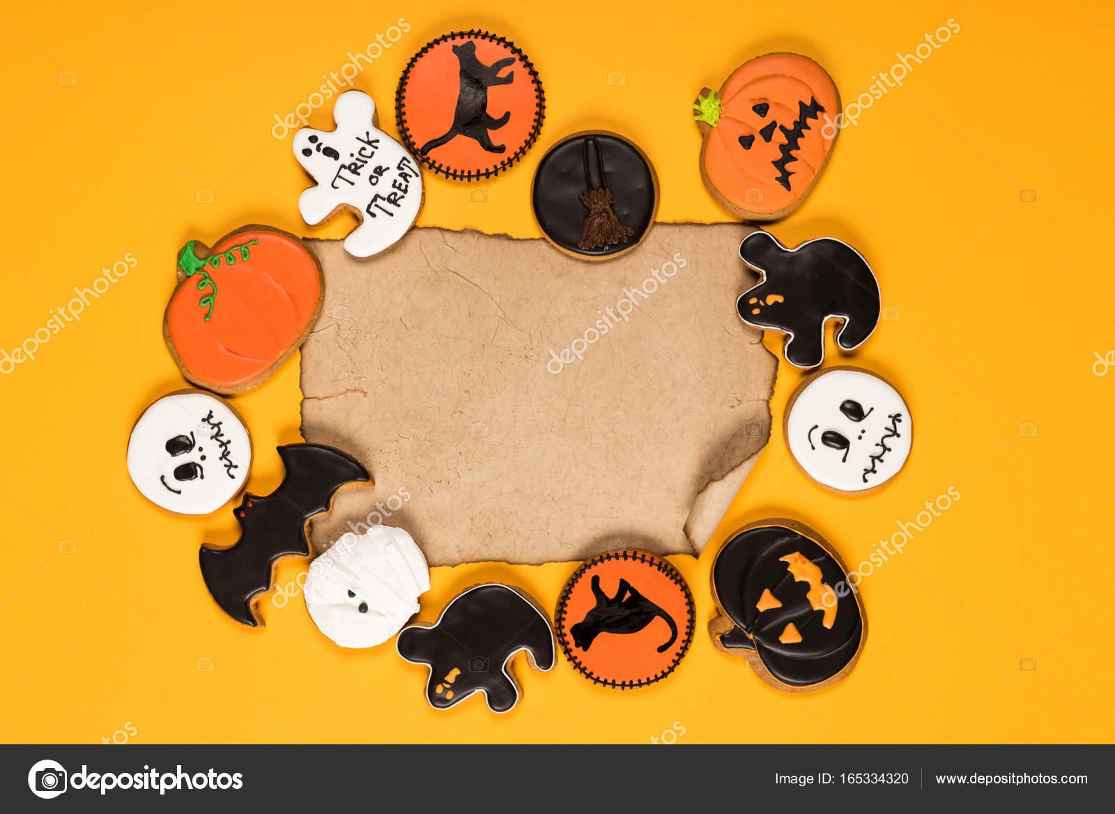 marco de galletas de halloween Foto de stock VadimVasenin 165334320