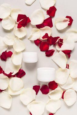 cream in plastic containers