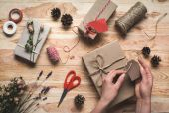 regalo di Natale decorazione donna
