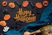 házi halloween süti