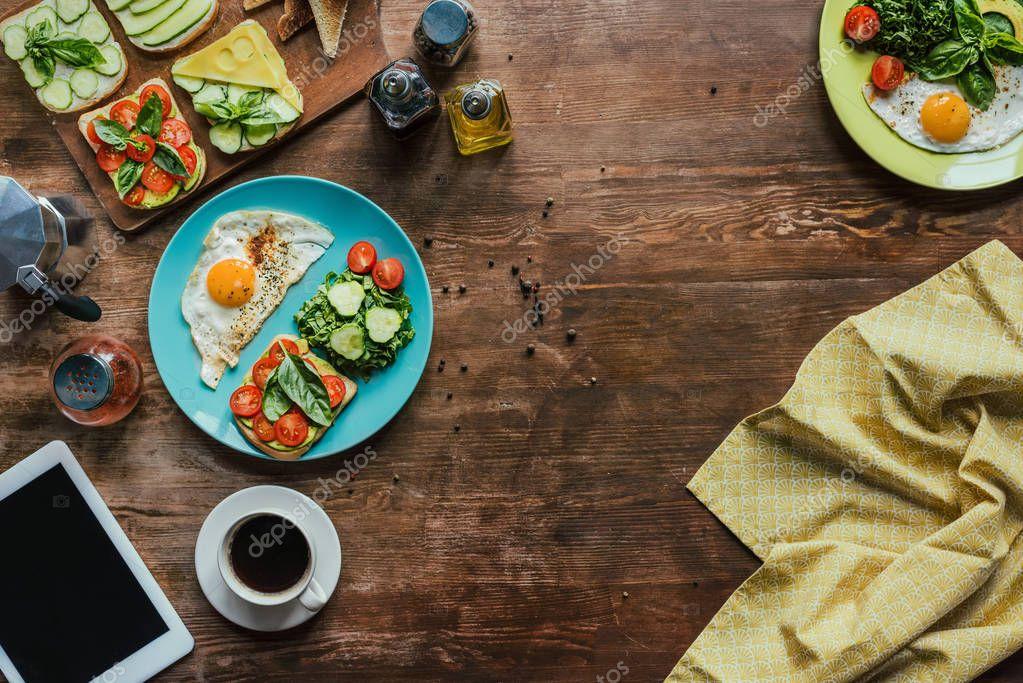 healthy breakfast for two