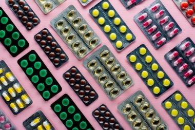 medicine in blister packs