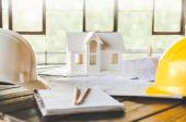 Hausmodell und Architektur-Ausstattung
