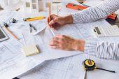 Architekt Práce s plány
