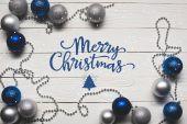 Fotografie různé vánoční ozdoby