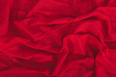 dark red linen texture