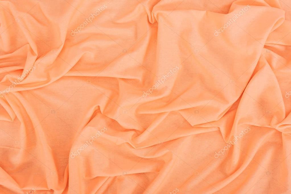orange linen texture