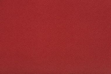 Close up view of red leather fabric texture stock vector