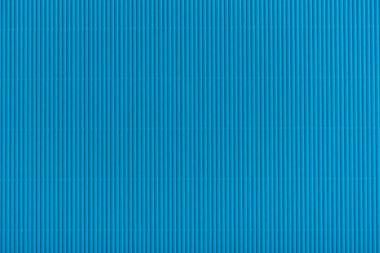 Close up view of blue cardboard texture stock vector
