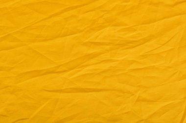 orange linen fabric