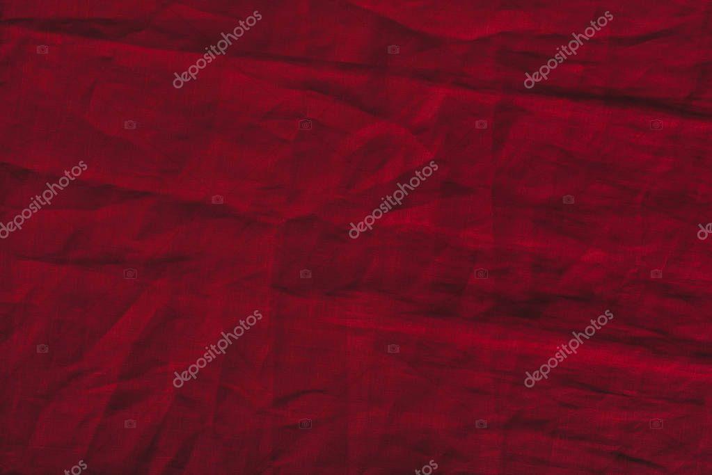 red marsala linen